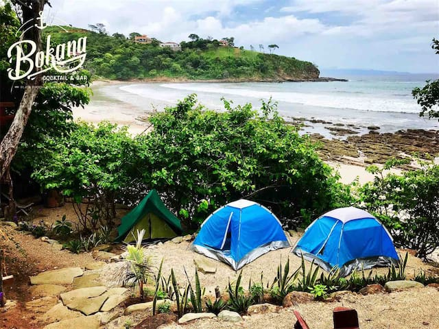 Surf camp Bokana playa Sucio