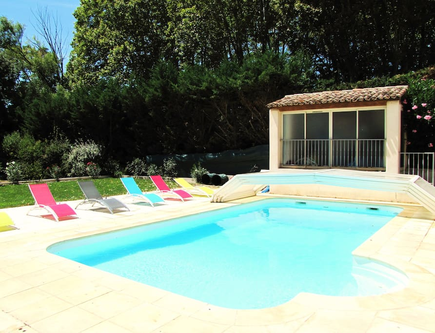 Villa aix avec piscine priv e 4ch 10 couchages for Camping aix en provence avec piscine