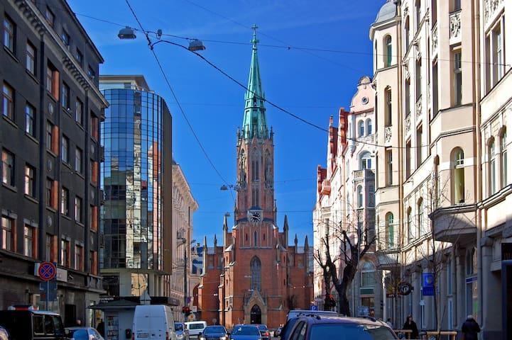 Exclusive Mansard in Riga Centre