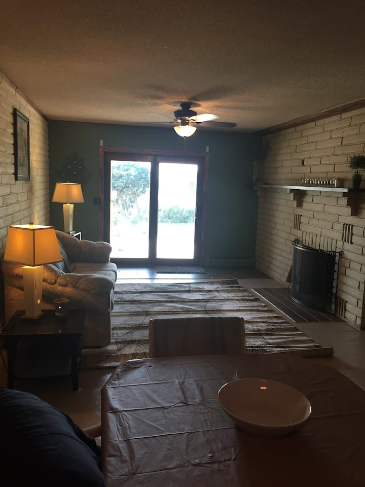 Spacious lower level with separate entrance