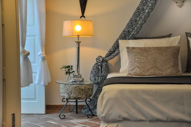 The Ground Floor Suite has been carefully designed with materials sourced from the local area