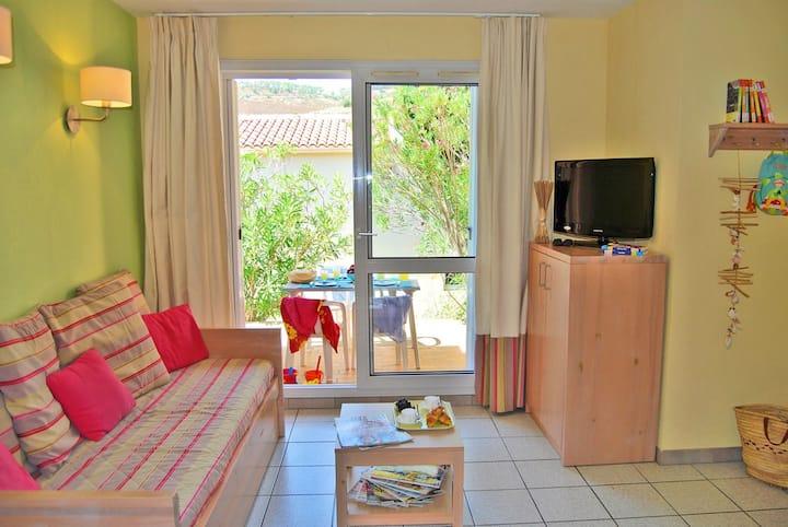 Appartement cosy proche de la Plage | Accès Piscine