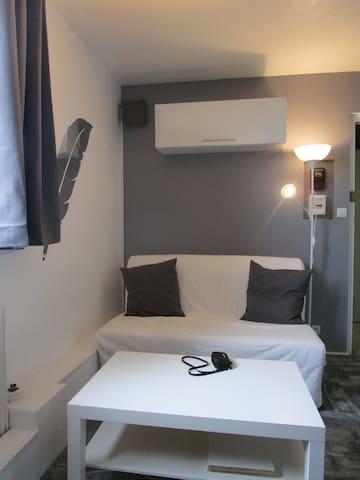 Mini studio dernier étage - Grenoble - Apartamento