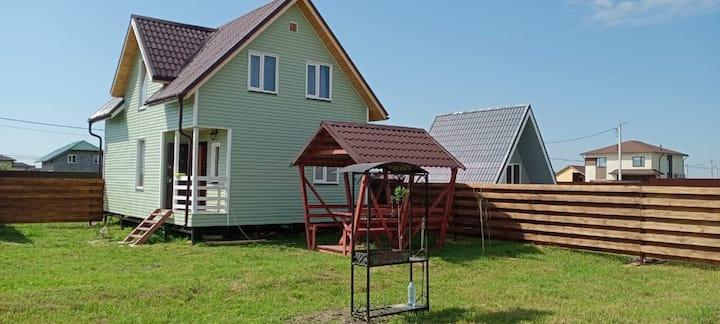 Дом с прекрасным видом в  д. Черное