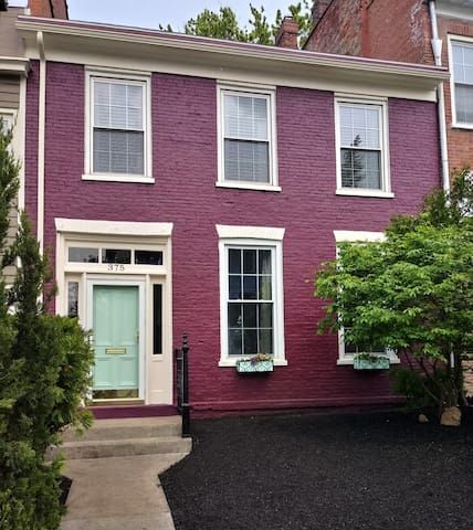 Plum House:  Row House charm in Historic District