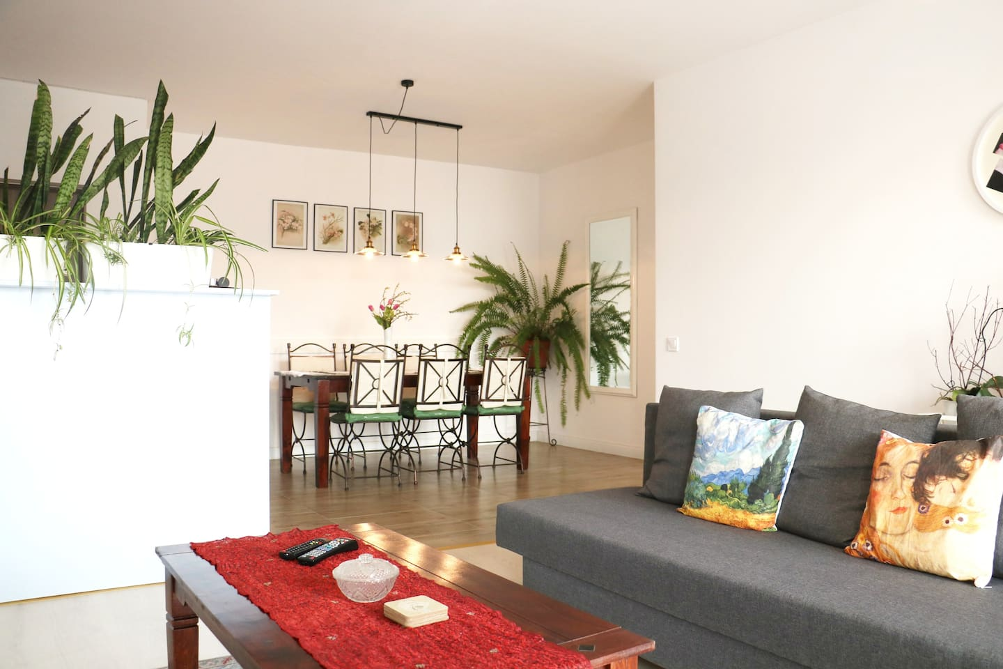 Enjoy the natural light in the living area.