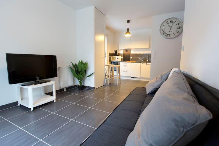 appartement tout confort - Besançon - Apartemen
