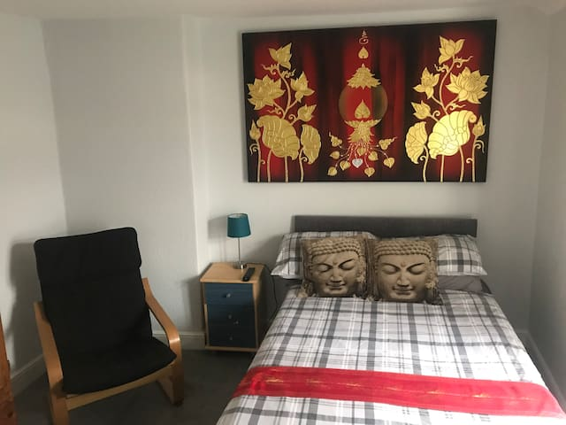 Peaceful quiet double room Aberystwyth