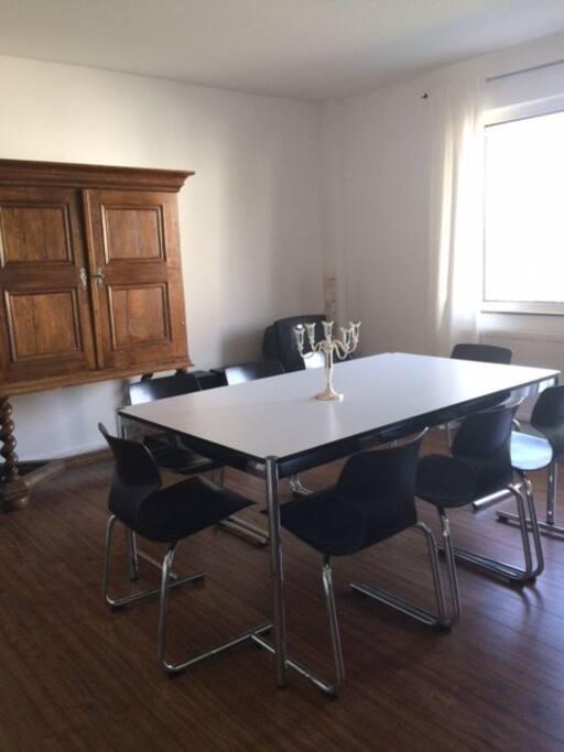 Wohnzimmer, USM Tisch