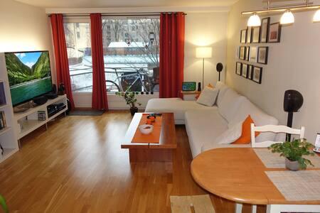 Sentral og praktisk leilighet - Oslo - Pis