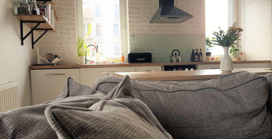 Komfortowy i słoneczny pokój - 3km od rynku - Wrocław - Apartament