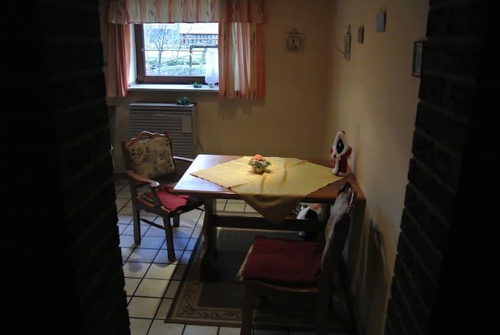 Gemütliche ruhige Wohnung für Monteure etc. - Osterholz-Scharmbeck - Apartment