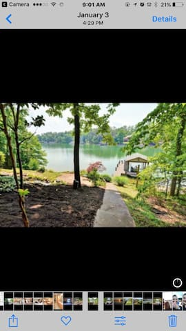 Lakehouse w/ private entrance & room with 2 beds - Loudon - Huis