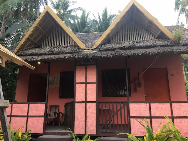 Siargao Pink Native Cottage 1