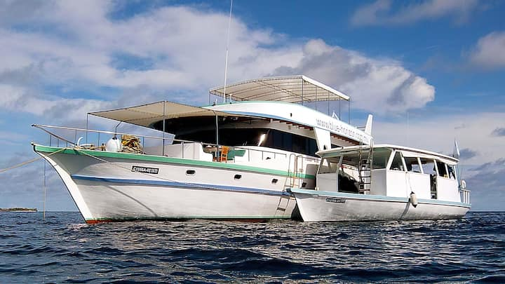 Unique liveaboard experience in Maldives, AIl Incl