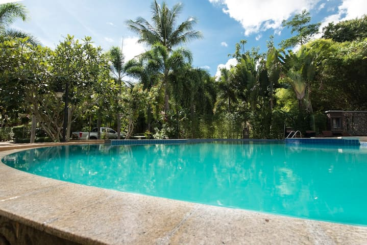 Lovely 1 bed Apt @ Tropical Garden Paradise w/pool - Ko Samui