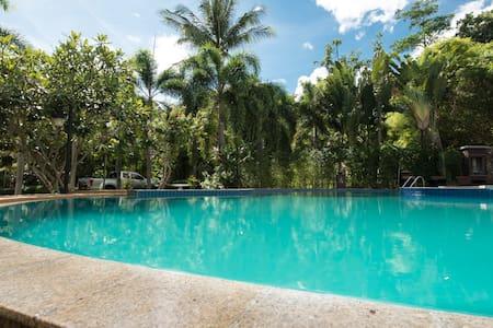 Lovely 1 bed Apt @ Tropical Garden Paradise w/pool - Ko Samui - Villa