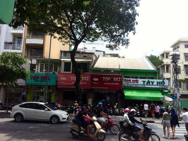 Local homestay in the center of HCMC ! - Ho Chi Minh - Huoneisto