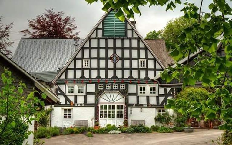 Ferienwohnung Finkenhof am Rothaarsteig - Kirchhundem - Appartamento