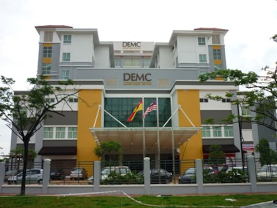Walking Distance to DEMC Specialist Hospital