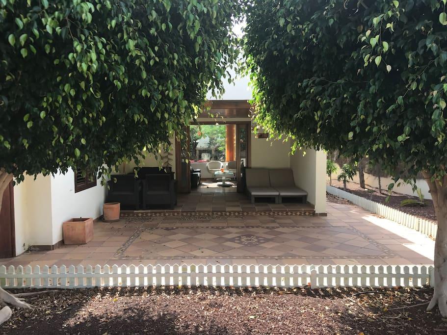 Fachada/entrada de la casa