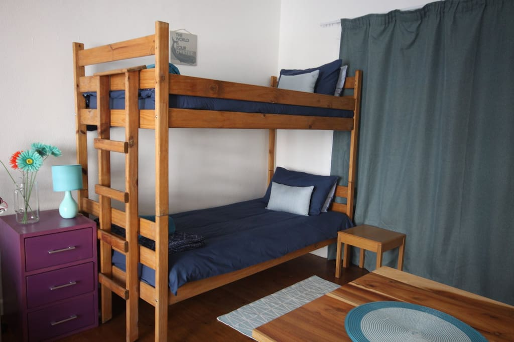 Bunk beds with plenty of headroom