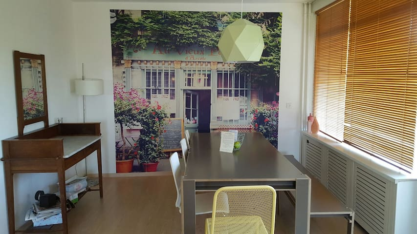 Nice non smoking appartement (85m2) near airport