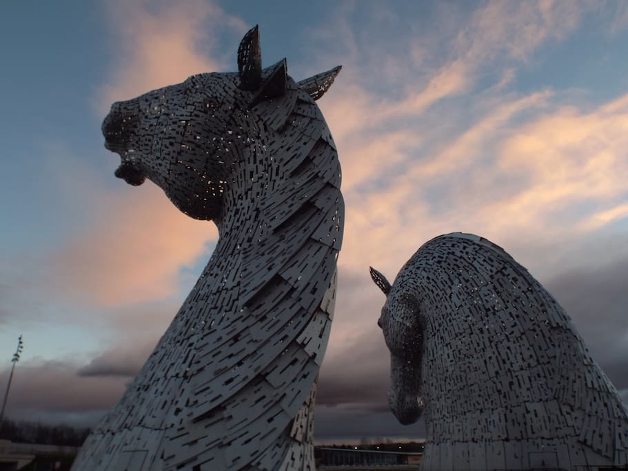 Or visit the awesome Falkirk Kelpies