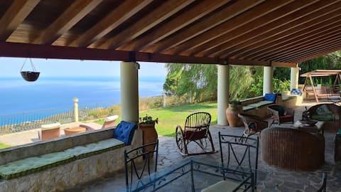 2 sovrum, Pool Villa, Eolisk utsikt