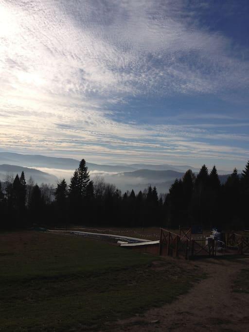 Panorama z Góry Parkowej