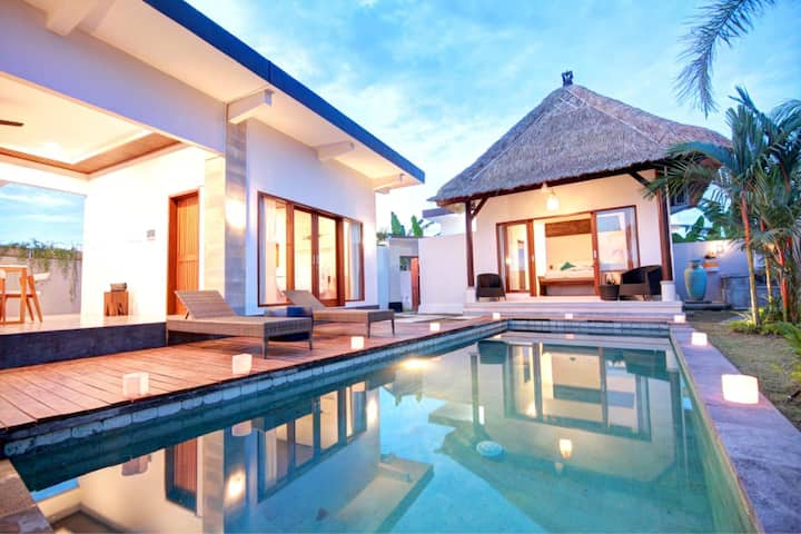 2 BR-Prawiba Villa Near Keramas Surfing Beach