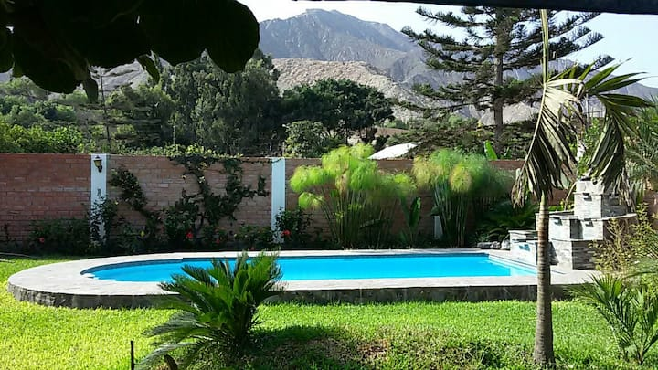 Casa de Jardines - Cieneguilla