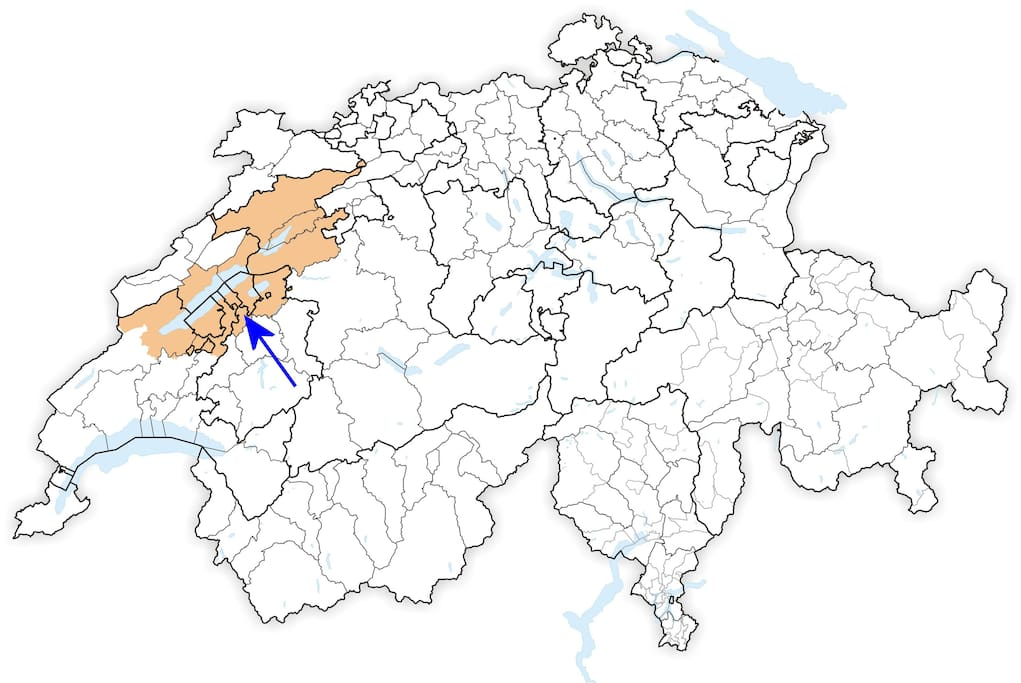 Dans la région des Trois Lacs