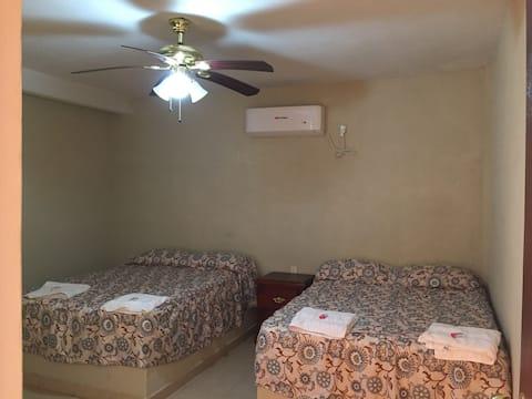 Habitación 5 Hotel Flor del Río  en el naranjo slp