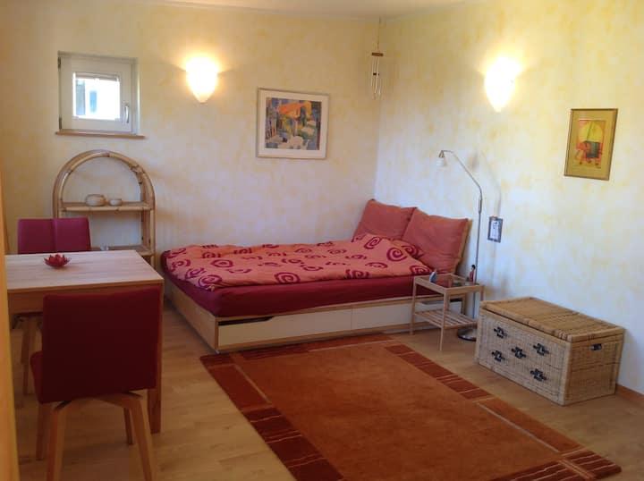 Gemütliches Zimmer in Vauban mit eig. Küche u. Bad
