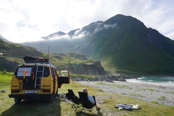 Cool and charming Volkswagen Camper Van