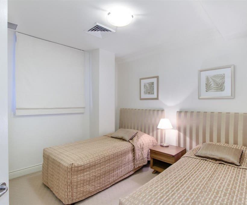 2 single beds in 2nd bedroom (On request)