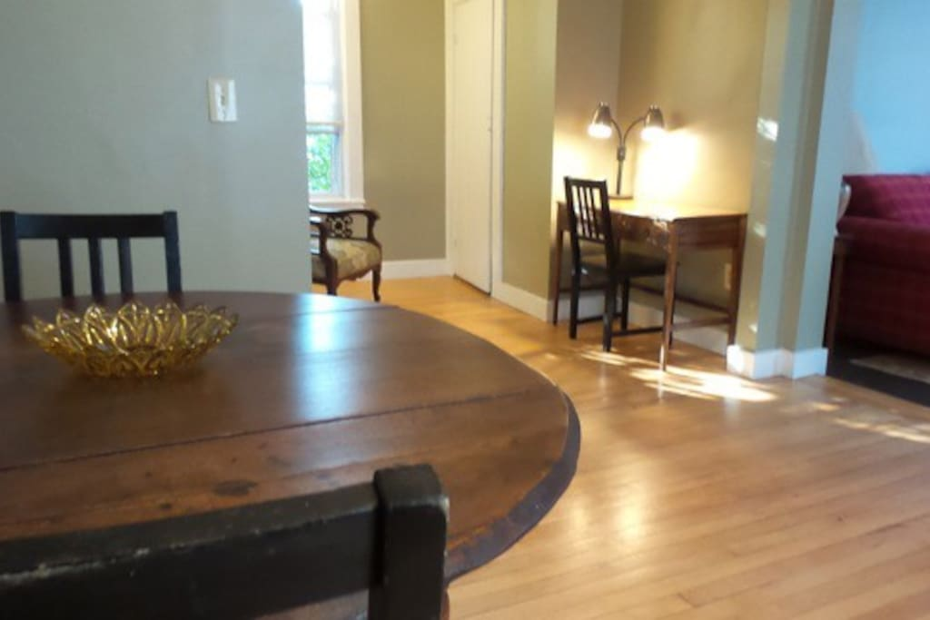 Dining space for up to three people!