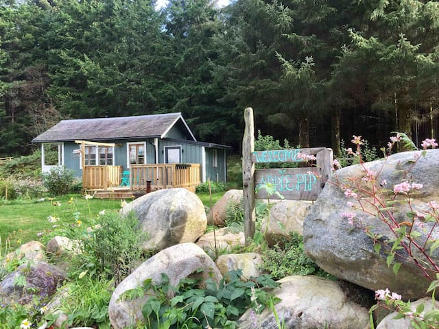 Apple Pip  - self catering tiny house, Loch Ness