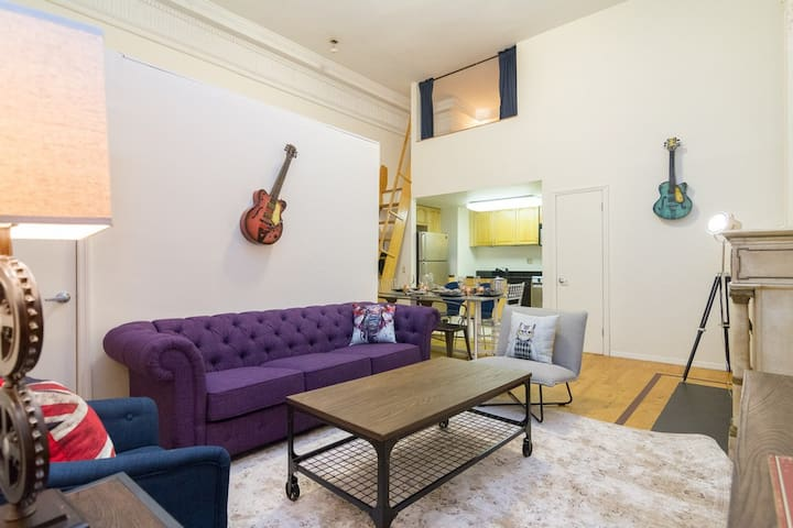 Madison Avenue 3 Bedroom Loft