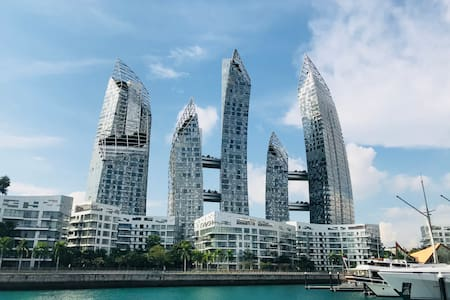 {Haven by the bay},Seaview 2bd apt, Sentosa
