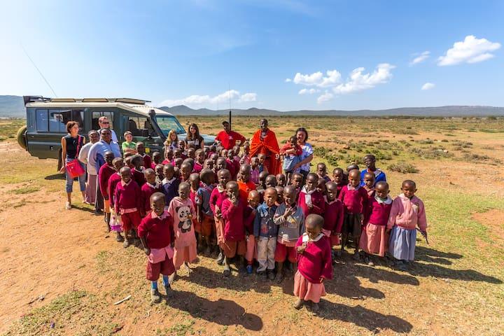 Family-friendly Eco Camp near Masai Mara - Masai Mara, Kenya - Tent