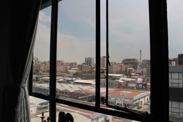 Budget Maboneng loft studio!