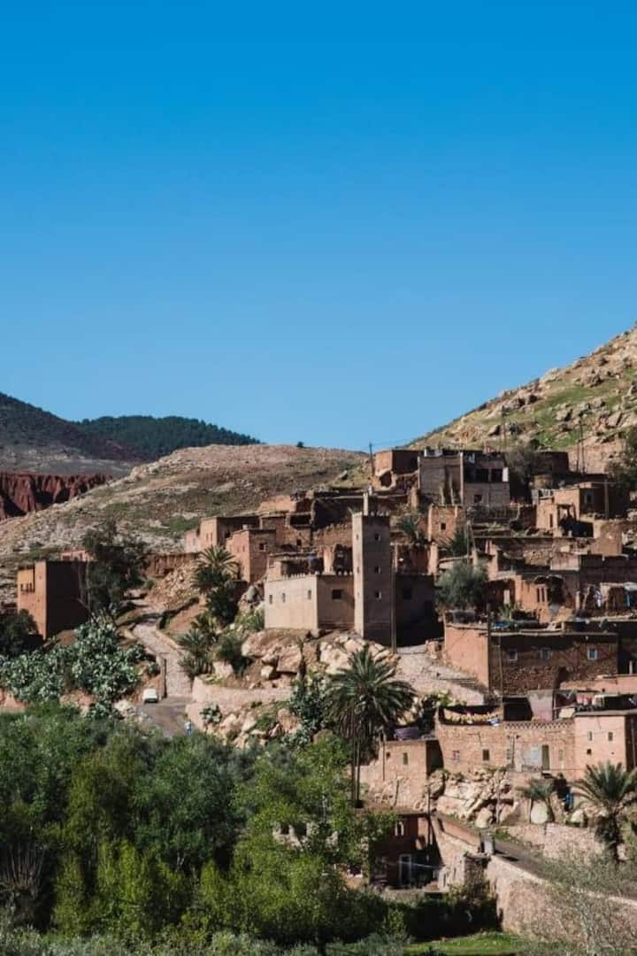 View of Berber village