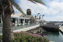 Caleta De Fuste beautiful Marina & Harbour