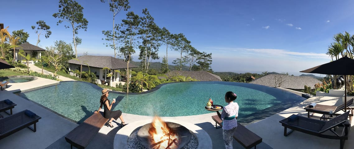 Villa Arcadia at Alta Vista in North Bali