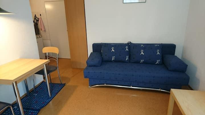 Gemütliche 1-Zimmerwohnung mit Terrasse