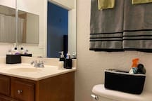 Clean towels and washcloths are always provided for each guest