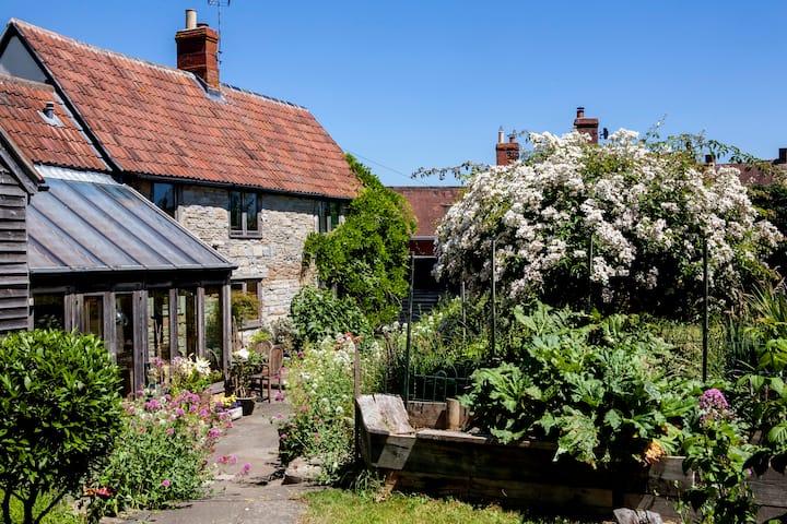 Superb Cottage & Gdns in Somerset village of Year