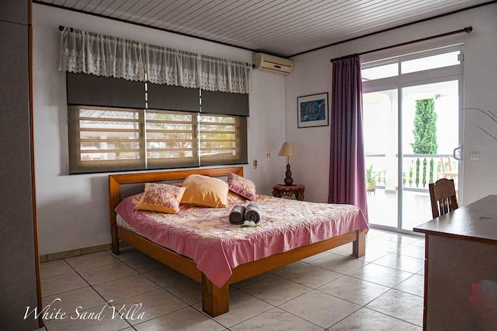White Sand Villa - Chambre privée Roti